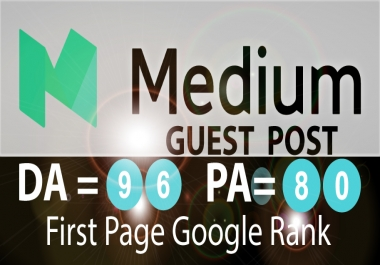 Write And Publish A Guest Posting On Medium Guest Post