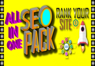 All in one latest and manual backlinks package to improve your ranking on page 1