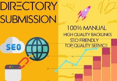 I will do 100+ SEO friendly high quality live Directory Submission to rank up website