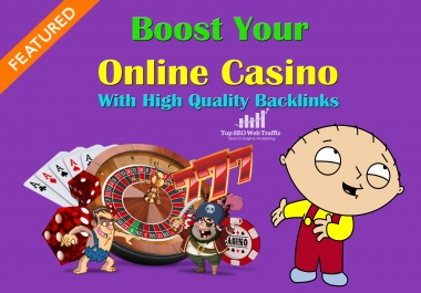 I will manually create 200 high quality Backlinks form Poker, Gambling, Online Casino PBN Sites