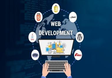 I will make you a basic website
