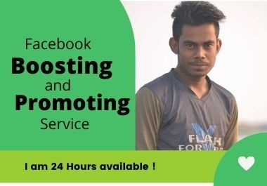 Boost your Facebook post and business page