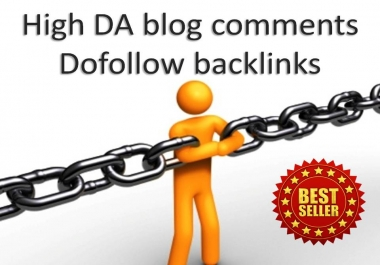 i will do 40 unique domains blog comments backlinks