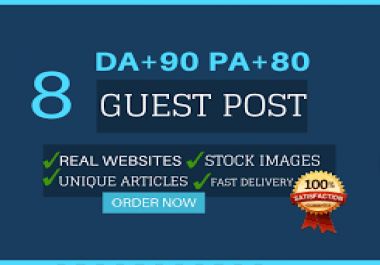 I Will Do Ten Guest Post On High Da And Pa Sites