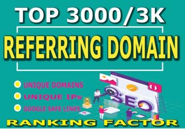 I will manually create 300 referring domain SEO backlinks