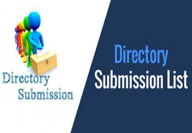 I will build 2100 USA directory submission SEO backlinks manually