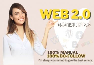 I will built high authority web 2.0 backlinks