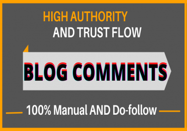 I will Give You 100 blog commenting links