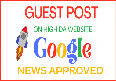 Guest Post on Google News Approved Sites
