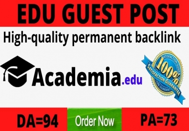 strong Edu guest post on academia.edu DA94 PA73