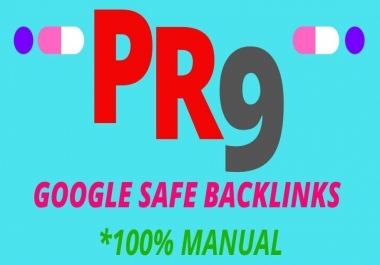 I will Create 30 PR9 Dofollow Backlinks Manually