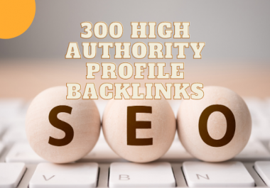 high Authority profile Backlinks