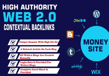 20 High Quality Web 2.0 Backlinks 2020
