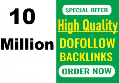 Effective dofollow 10 Million GSA SER dofollow backlinks for top Google ranking