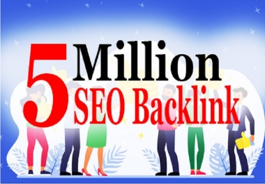 do 5 million seo tier backlink for youtube, page and website ranking