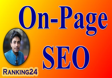 I will do best onpage SEO and technical on page optimization