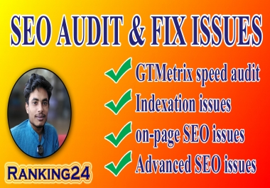 I will do website SEO audit with screaming frog and fix issues