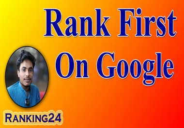 I will do best rank your website first page of google