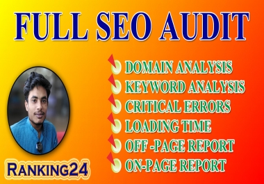 I will do best provide technical SEO audit your website