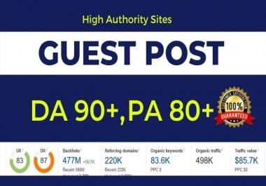 Write & Publish Guest Post on high DA 90+ Authority website Medium/LinkedIn/LiveJournal
