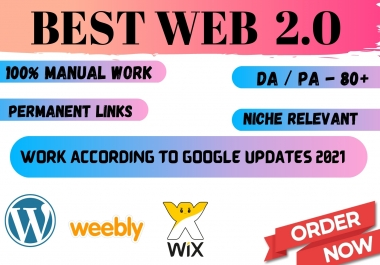 30 web 2.0 for your website to rank on google permanent backlinks