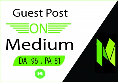 I will create guest post backlinks on Medium.com