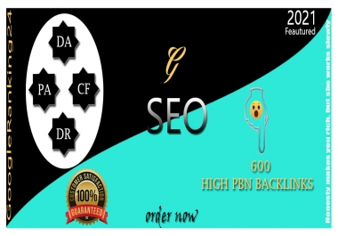I Will Provide 600 High Authority PBNS Backlinks For Google Ranking