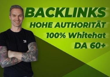 I will do 100 ultra PBN high Da 70 to 50 SEO dofollow contextual backlinks off page seo