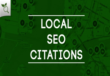 I will create 20 local listing citation for any country