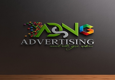 ASDNG ADVERTISING best logo design and wold cluad Art Design