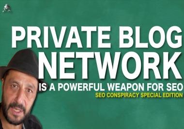 create 10 High DA Home Page PBN Backlinks - Do-follow Quality PBNS