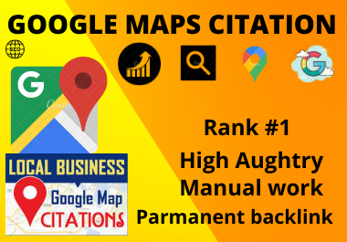 Manual 200 Google Maps Citation manual high authority permanent local citation