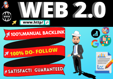 Manual 30 Web 2.0 backlinks High Authority link building permanent