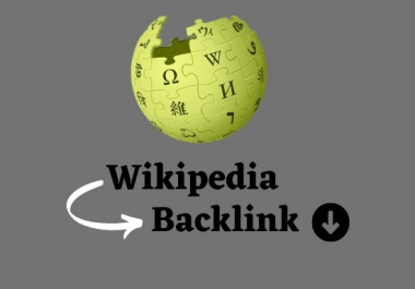 create a high authority Wikipedia backlink for your website