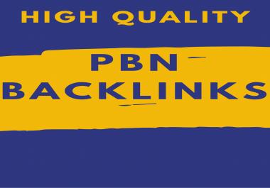 Create 10 High PBN Backlinks PA DA DOfollow Quality links