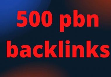 Build, 500 High Quality DA70+ PBN Backlinks, To Website Improving