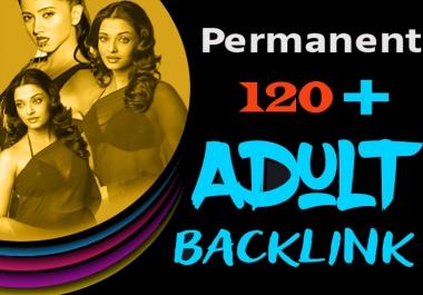 Creative 120 Adult SEO Permanent Backlink From DA 60+ Backlinks Site
