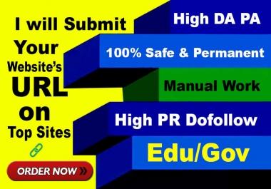 75 high authority USA pr9,edu profile backlinks, link building
