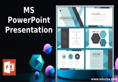 I will design powerpoint template and presentation slide