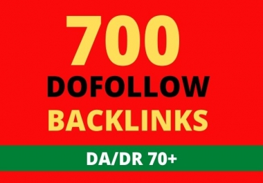 I will build 700 high authority dofollow backlinks for google ranking