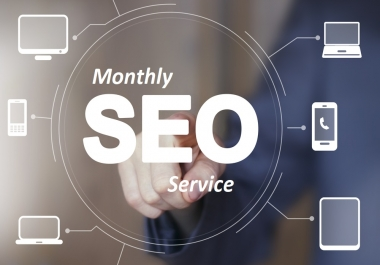 I Will Create Monthly Off- Page SEO Service and Manual High Quality Backlinks