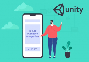 Implement adnetwork and in app purchase integration in your game