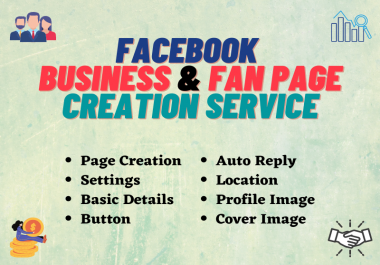 I will create, setup and optimize facebook business page