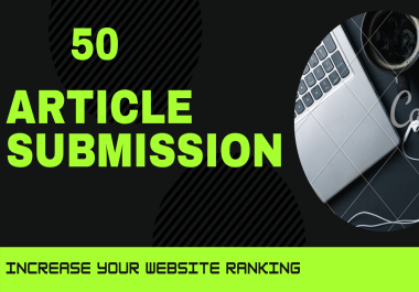 Provide 50 High-quality Article Post To Your Site And Create A Natural Link