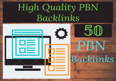 I will manually post 50 permanent PBN blog posts to high-quality, high-trust flow PBN.