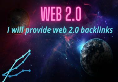 I will Create manually 50 web2.0 high-quality SEO do follow backlinks