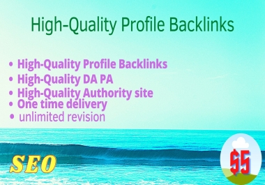 I will do create 100 high-authority SEO backlinks from top brands link building top rankings.