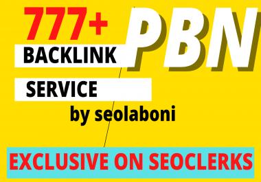 Manual 777+ High PA/DA TF/CF Homepage Dofollow PBN Backlinks