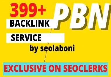 Manual 399+ High PA/DA TF/CF Homepage Dofollow PBN Backlinks