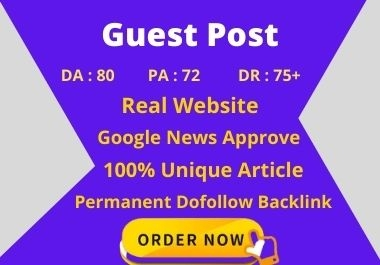 I will do a guest post google news approval site for your business
